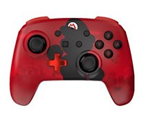 Manette Powera Manette Sans Fil Switch Mario Silhouette