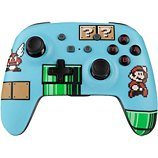 Manette Powera  Manette Sans Fil Switch Mario Bros