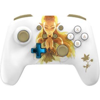 Powera Manette Sans Fil Switch Zelda Blanche