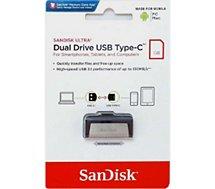 Clé USB Sandisk  Ultra Dual Drive USB + USB Type C 32GB