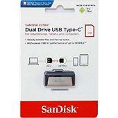 Clé USB Sandisk ULTRA DUAL DRIVE USB Type C 64GB