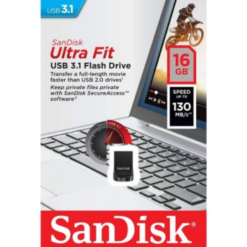 Sandisk Cruzer Fit Ultra 16GO USB 3.1