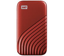 Disque SSD externe Western Digital  My Passport  1To Rouge