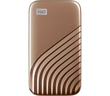 Disque SSD externe Western Digital  My Passport  500Go Or