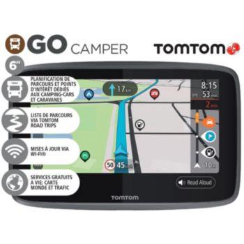 Tomtom GO Camper Monde connecté