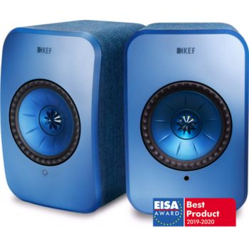 KEF LSX Wireless bleue