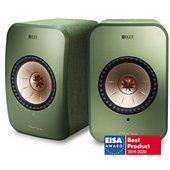 Enceinte sans fil KEF LSX Wireless verte