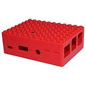 Boitier PC Multicomp PI-blox rouge