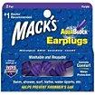 Bouchons anti-bruit Mack's Bouchons d'Oreilles Waterproof Aqua Bloc