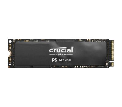 Disque SSD interne Crucial P5 500Go 3D NAND NVMePCIe M.2
