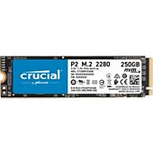 Disque SSD interne Crucial P2 250GB 3D NAND NVMe PCIe M.2