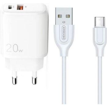 Joyroom Pack Chargeur 2 USB 20W + câble USB S-L3