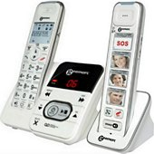 Téléphone sans fil Geemarc Téléphone Geemarc Amplidect 295