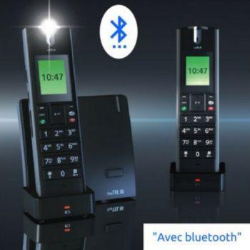 Humantechnik Téléphone sans fil FreeTel III avec ampl