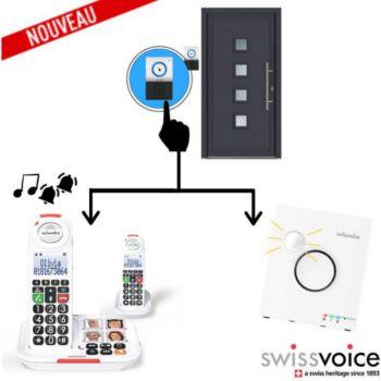 Swissvoice Pack Maison: Téléphone Sans fil DUO XTRA