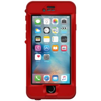 lifeproof nuud iphone 6s rouge campfire accessoire. Black Bedroom Furniture Sets. Home Design Ideas