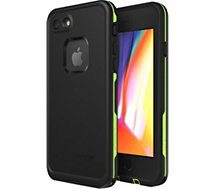 Coque Lifeproof  iPhone 7/8 Plus Fre Antichoc vert/noir