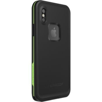 Lifeproof iPhone X Fre Antichoc vert/noir