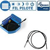 Qubino Kit gestion de chauffage fil pilote Z-Wa