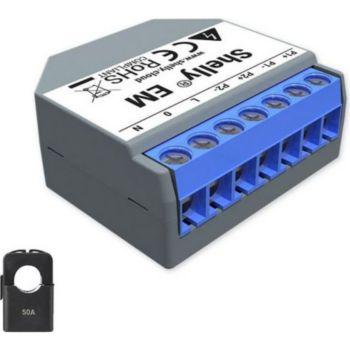 Shelly Ampèremètre Wi-Fi 50A compatible avec pi