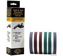 Kit de courroies Work Sharp  Kit de 6 courroies pour affuteur WSKTS
