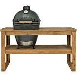 Chariot barbecue Big Green Egg  acacia XL 4 pour barbecue
