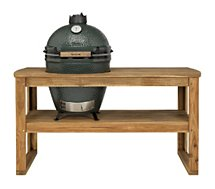 Chariot barbecue Big Green Egg  acacia XL 4 pour barbecue