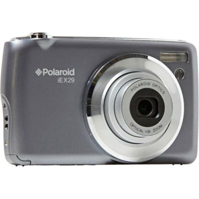 polaroid appareil photo compact iex29 gris compact photovideopascher. Black Bedroom Furniture Sets. Home Design Ideas