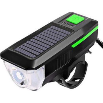Cellys de vélo solaire 2 en 1