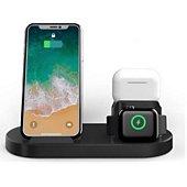 Chargeur induction Cellys induction 3en1 pour iPhone,  Watch et A