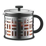 Théière à piston Bodum  a piston 1.5 L inox