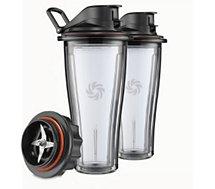 Bol Vitamix  2 CUPS 600ml + bloc Lames pour Ascent
