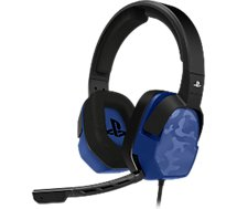 Casque gamer PDP Casque Afterglow LVL 3 PS4 Camo Bleu