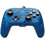 Manette PDP  Manette Filaire Switch Camo Bleue