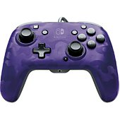 Manette PDP Manette Filaire Switch Camo Violette