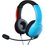Casque gamer PDP  Casque Switch LVL40 Bleu/Rouge