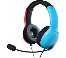 Casque gamer PDP  Switch LVL40 Bleu/Rouge