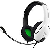 Casque gamer PDP LVL40 Xbox one BLANC
