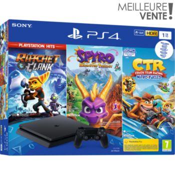Sony 1To Ratchet + Crash Team + Spyro
