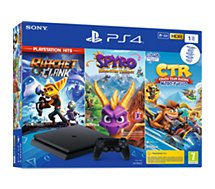 Console PS4 Sony  1To Ratchet + Crash Team + Spyro
