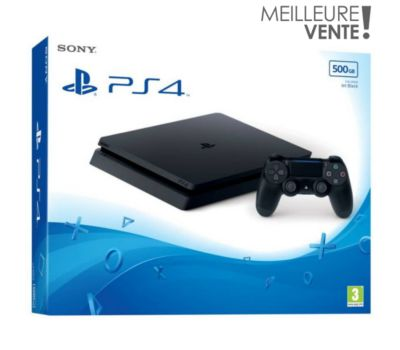 Console PS4 Sony Slim 500Go