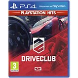 Jeu PS4 Sony Driveclub HITS