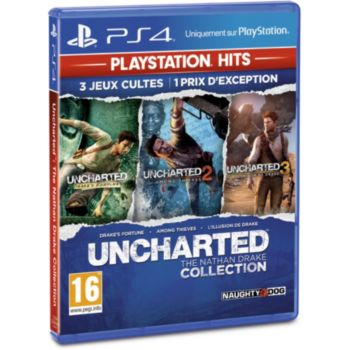 Sony Uncharted Nathan Drake Collection HITS