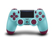 Manette Sony  Manette PS4 Dual Shock Berry Blue
