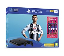 Console PS4 Sony Slim 1To + FIFA 19
