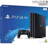 Console PS4 Sony Pro 1 To Noire