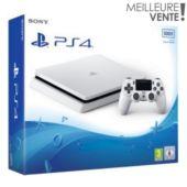 Console PS4 Sony Slim 500Go Blanche