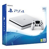 Console PS4 Sony Slim 500Go Blanche