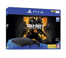 Console PS4 Sony Slim 1To Call Of Duty Black Ops 4