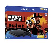 Console PS4 Sony 1To Red Dead Redemption 2